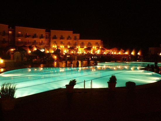 Hotel Club Phokaia: le soir. un beau spectacle... de bonnes balades.