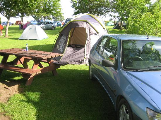 Mortonhall Caravan and Camping Park: Our pitch