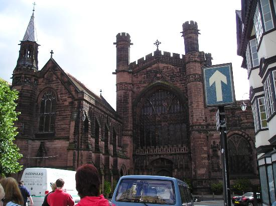 Chester, UK: cathedral