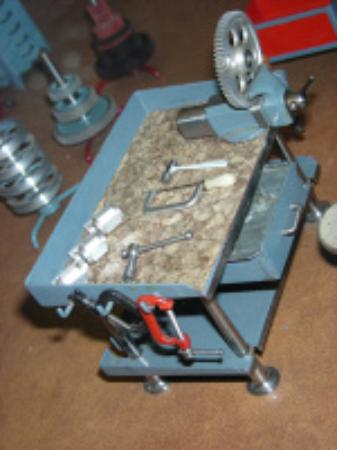 American Precision Museum: Tiny machinist's workbench by John Aschauer