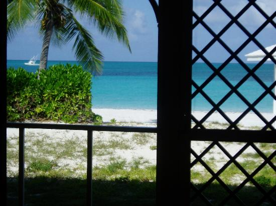 Cape Santa Maria Beach Resort & Villas: The view from our porch