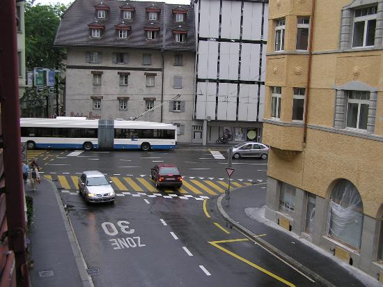 Hotel Rothaus: view left side from window