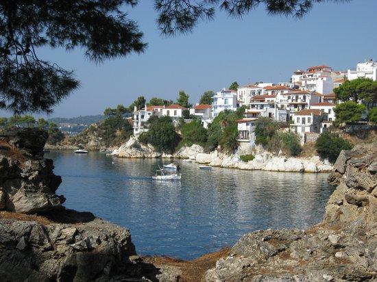 Troulos Bay Hotel: Skiathos Town