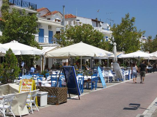Skiathos Town Tavernas Picture of Troulos Bay Hotel Skiathos