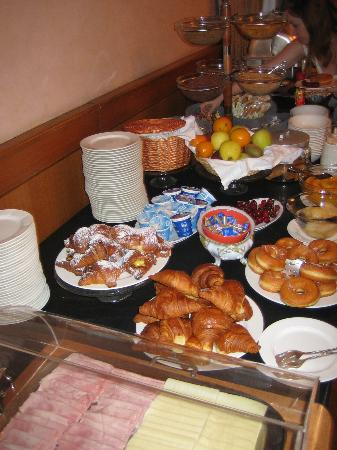 Hotel Rex : that's what i call breakfast! :)