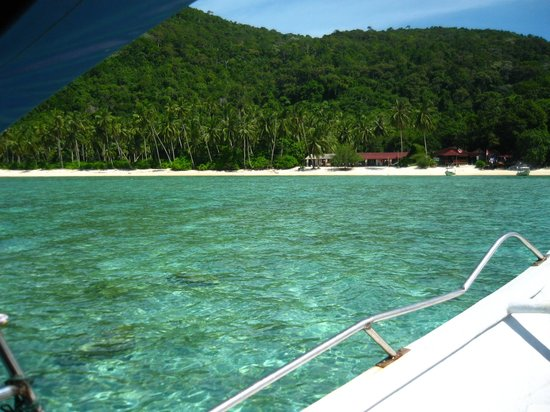 Mozana Redang Resort : Approaching the resort