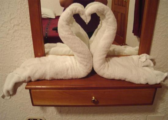San Sebastian Hotel : Swan towels
