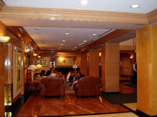 The Manhattan Club: Manhattan Club lobby