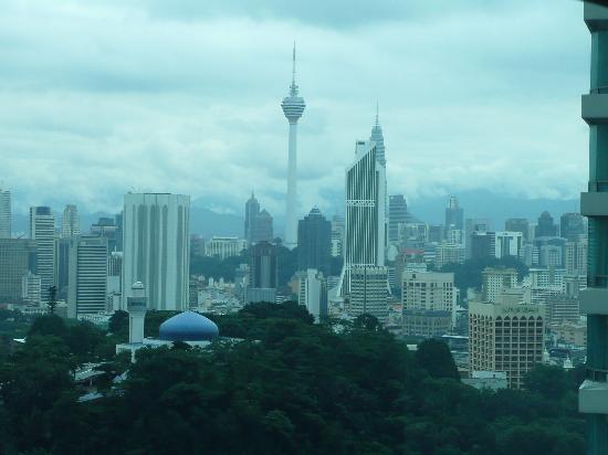 Hilton Kuala Lumpur: view from room 2224