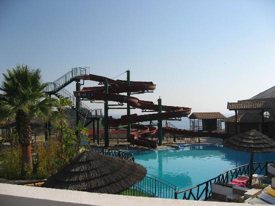 Palazzo di Zante Hotel: scivolo piscina