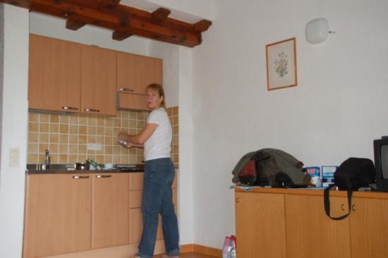 Linguizzetta, ฝรั่งเศส: Kitchen row