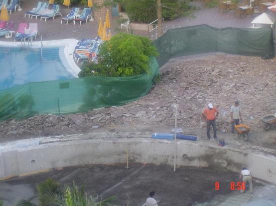 Spring Arona Gran Hotel: Building work