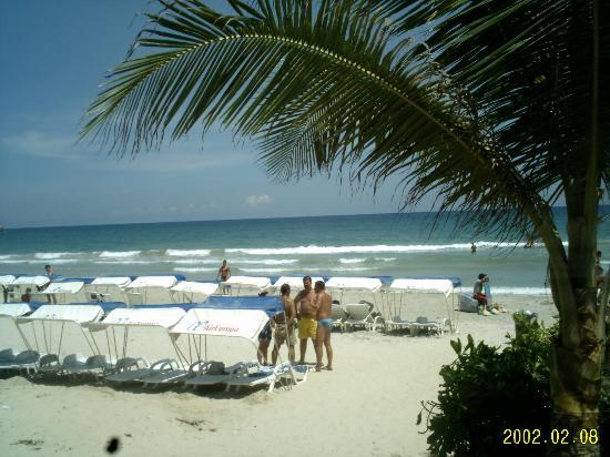 Los Roques National Park, Venezuela: Strand Isla Coche