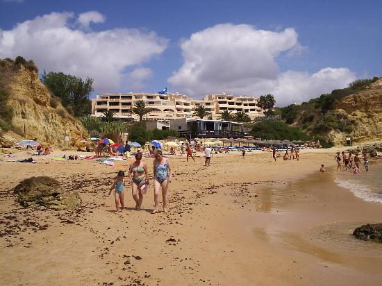 Praia Dos Aveiros Apartments: view of apartments from the beach