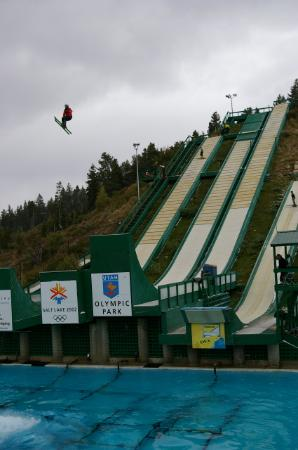 Utah Olympic Park : In flight