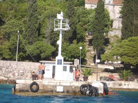Hotel Lapad: Harbour at Kolocep