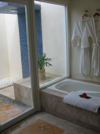 Presidente Inter-Continental Cozumel Resort & Spa: LOVED the bathroom!