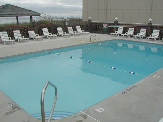 Atlantic Towers: Oceanfront Outdoor Pool