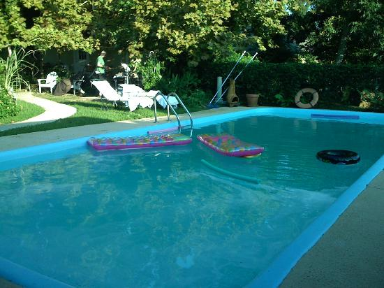 Crochet House Bed & Breakfast: The wonderful pool!