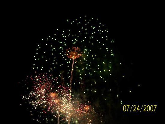 Fireworks At Broadway Myrtle Beach Sc
