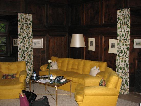Schloss Prielau: Sitting Area in Room