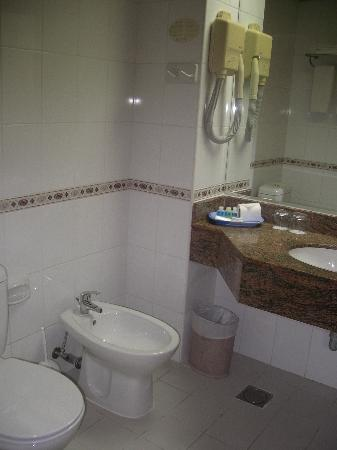Rolla Residence: Bathroom was clean, big & well ventilated