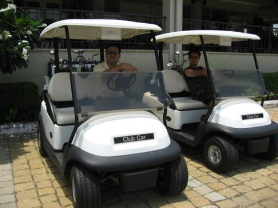 Ocean Dunes Golf Club : In thhe Carts!