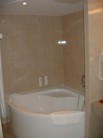 Holiday Inn Vilnius: Suite Bathroom Bathtup