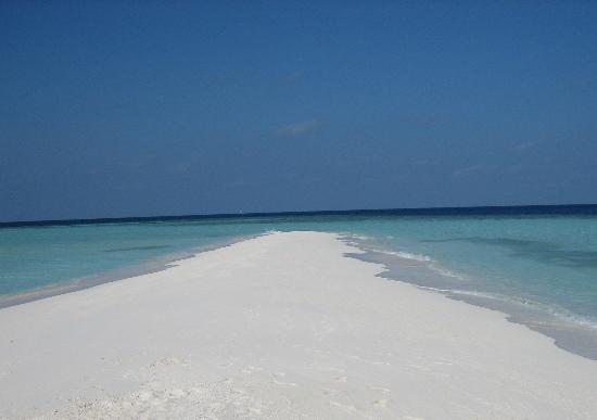 VOI Dhiggiri Resort: La spiaggia