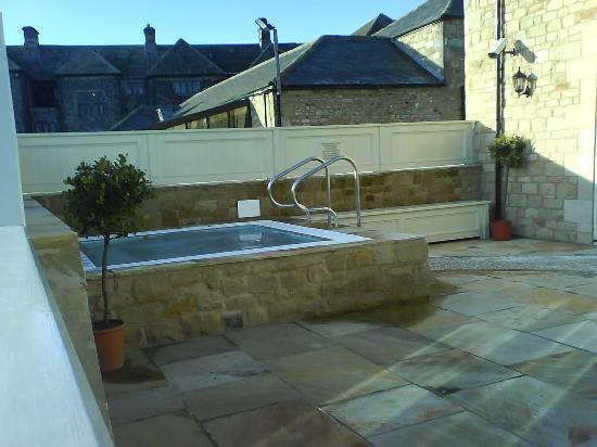 Headlam Hall Hotel Spa & Golf: The fantastic outdoor hot tub