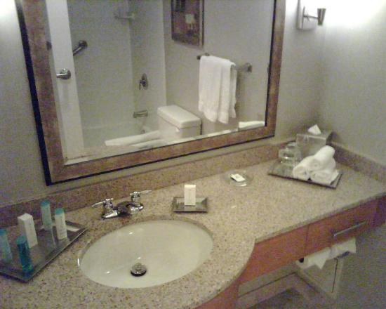 Hilton Hartford: Bathrooms