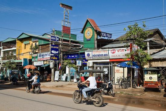 Siem Reap, Kambodja: Dead Fish Restaurant and Guest House