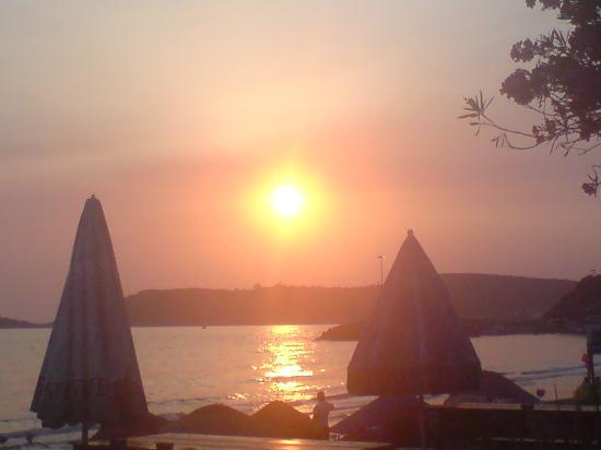 Grand Efe Hotel: Sonnenuntergang