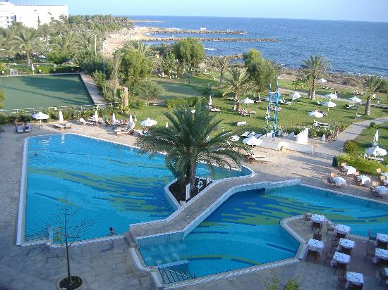 Constantinou Bros Athena Royal Beach Hotel: View from the balcony