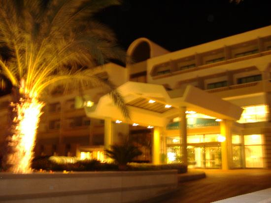 Constantinou Bros Athena Royal Beach Hotel: Front of the hotel