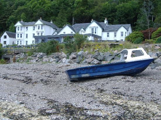 Allt-nan-Ros: View from beach