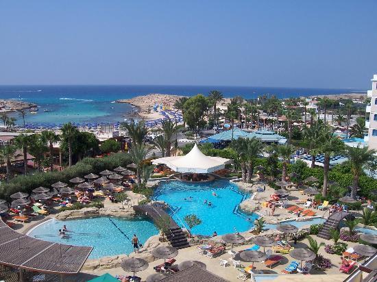 Tasia Maris Beach Hotel: View from room