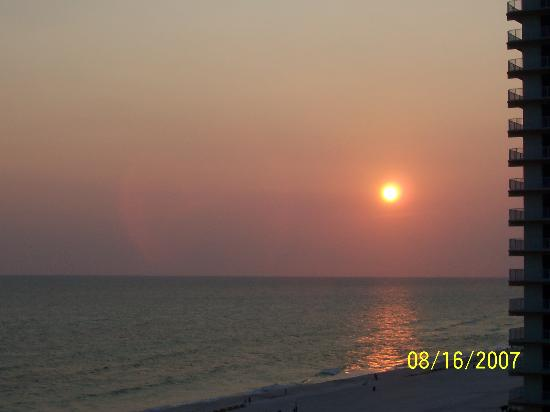 Sunbird Condominiums : Sunset from Sunbird W