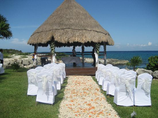 Occidental At Xcaret Destination Wedding Setup