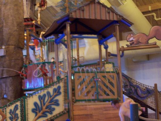 Tundra Lodge Resort Waterpark & Conference Center : Mid size kids water area