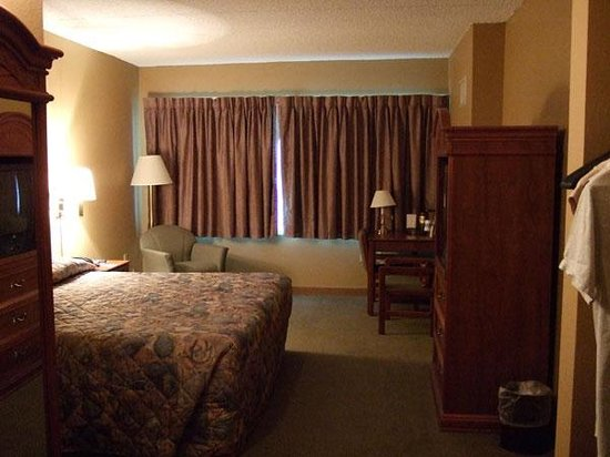 Dakota Sioux Casino & Hotel: king bed non smoking standard room