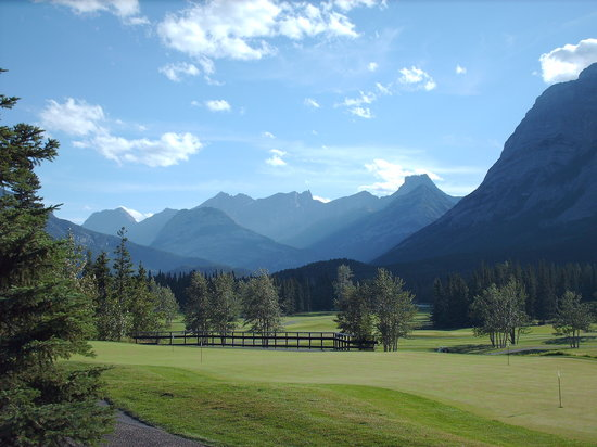 Kananaskis Country, Canada : The golf course