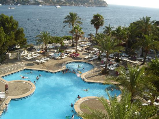 Sea view from our room picture of trh jardin del mar for Aparthotel jardin del mar mallorca