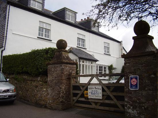 Strete Barton House: Outside Strete Barton