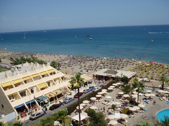 Hotel Riu Nautilus: Vista desde una habitación frontal