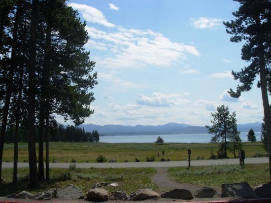 Yellowstone Lake From Lake Lodge Picture Of Lake Lodge