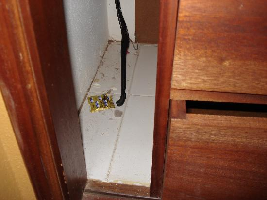Solar Dos Vilarinhos Apartments : Condom packet in wardrobe