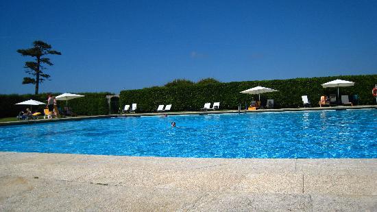 Baiona, Spanien: pool