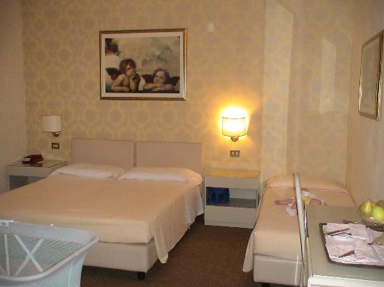 Grand Hotel Plaza & Locanda Maggiore: our bedroom - nice and spacious!