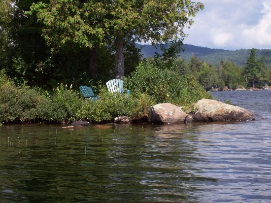 Prospect Point Cottages - Blue Mountain Lake: the